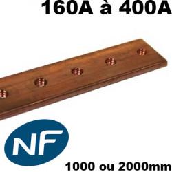 Jeu de barre en cuivre 160A à 400A