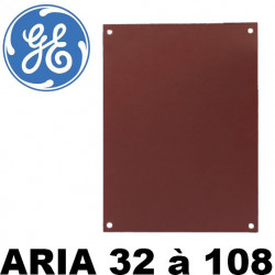 Plaque de montage PERTINAX pour coffret polyester ARIA General Electric
