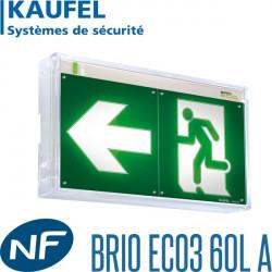 Bloc BAES évacuation Kaufel BRIO ECO3 Kaufel