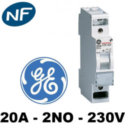 Contacteur jour/nuit 20A 230V 2NO General Electric