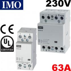 Contacteur electrique 63A IMO - 2 ou 4 poles - Bobine 230V