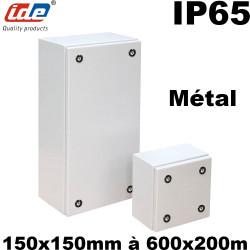 Boitier métallique étanche TECNO - IP65 type boite à bornes