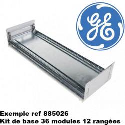KIT de base pour armoire General electric QuiXtra 630 - 12/24/36 modules - largeur 364, 660 ou 876mm - Combinables entre elle...