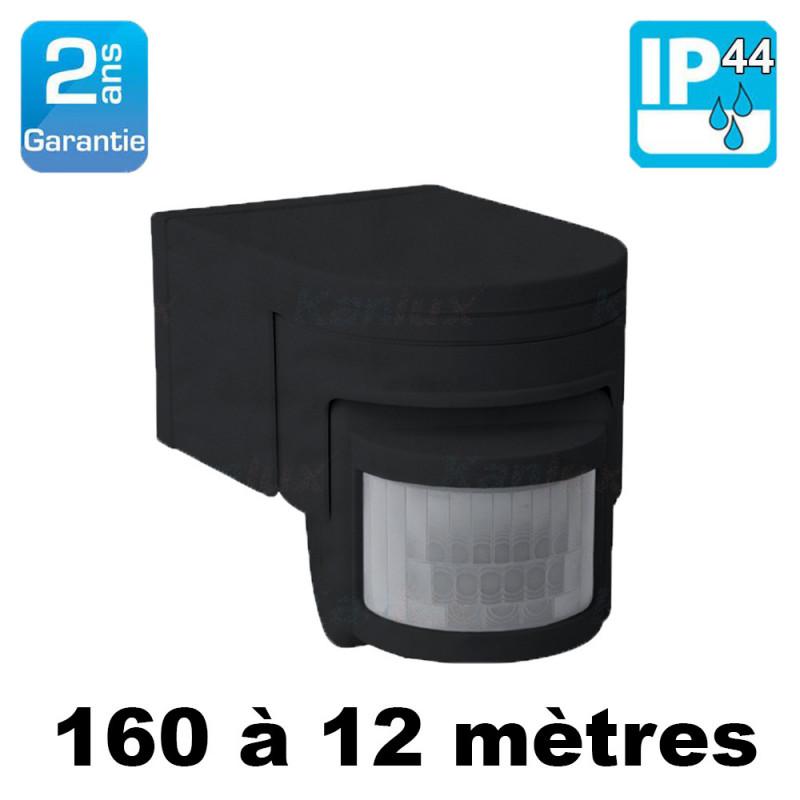 Détecteur de mouvement extérieur étanche IP44 160° SLICK JQ-L