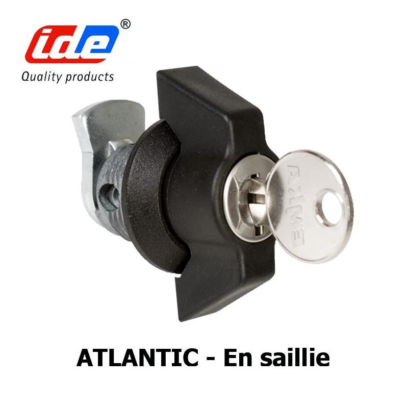 Serrure armoire électrique en saillie ATLANTIC IDE