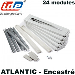Kit rail DIN pour armoire ENCASTRABLE Atlantic