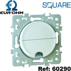 Sortie de câble 16/20A Blanc SQUARE Eurohm