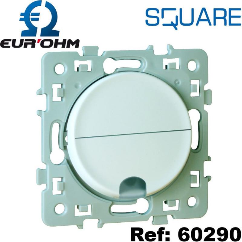 Sortie de câble 16/20A Blanc SQUARE Eurohm Eur'Ohm
