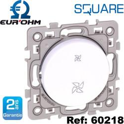 Commandes de VMC 2 vitesses Square Eurohm Eur'Ohm