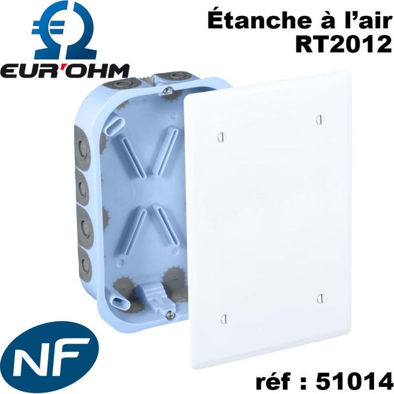 EurOhm Bo/îte de d/érivation cloison s/èche XL Pro 250 x 190 x 50 mm