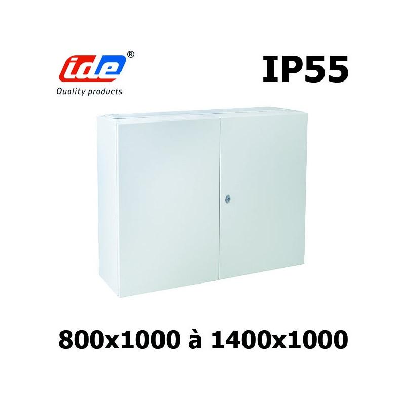 Armoire électrique IP55 Double porte IDE Argenta
