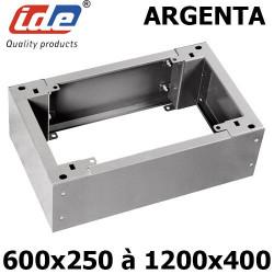 Socle pour armoire argenta hauteur 100 ou 200mm