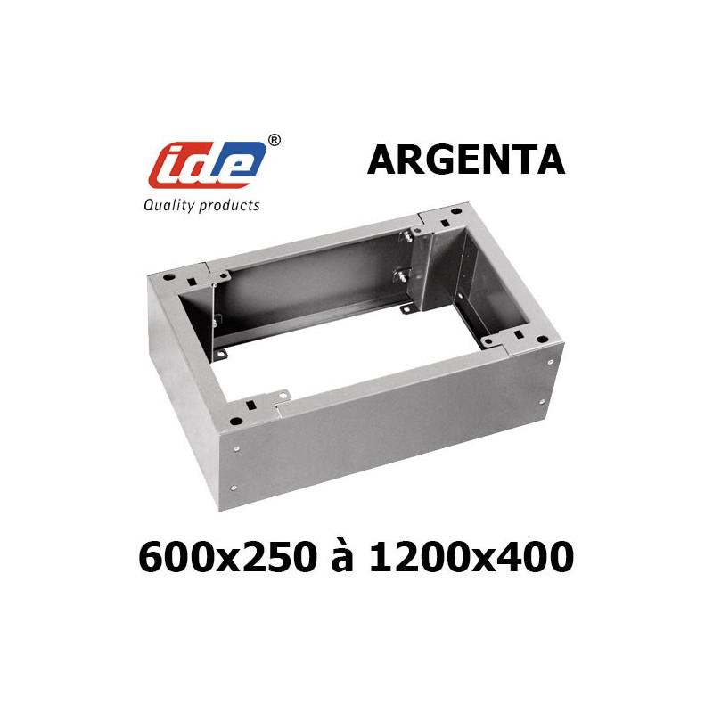 Socle pour armoire électrique IDE Argenta hauteur 100 ou 200mm