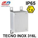 Boîtier TECNO ATEX inox AISI 316L sans plaque de montage IDE