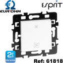 Interrupteur VMC 2 vitesses blanc Esprit Eurohm Eur'Ohm