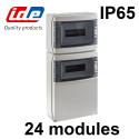 Coffret IDE STAR pour prise de courant ou piscine - Étanche IP65 IDE