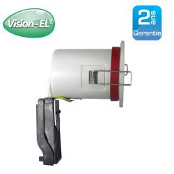 Spot GU10 BBC Rond Blanc avec douille automatique Ø88 mm