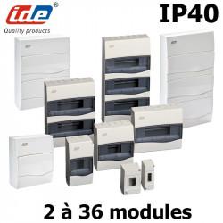 Tableau électrique nu sans disjoncteurs IDE Combi
