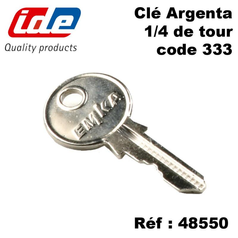 Clé supplémentaire code 333 pour coffret ou armoire électrique IDE