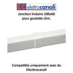 Jonction linéaire pour goulotte clim. dim. 100x60
