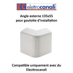 Angle externe 135x55 pour goulotte d installation
