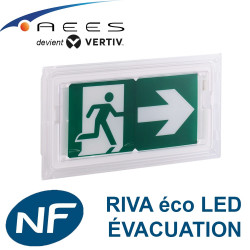 Bloc autonome RIVA Eco LED 45lm Sati AEES