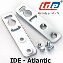 Pattes de fixation murale pour Armoire IDE Atlantic x4 IDE
