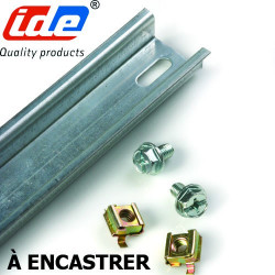 KIT RAIL DIN pour IDE Atlantic à encaster