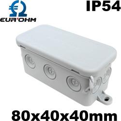 Mini Boite de dérivation étanche IP54 pour luminaire