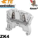 Bloc de jonction Entrelec ZK4 automatique 4/6mm² Entrelec