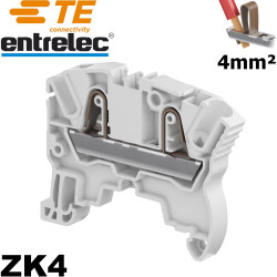 Bloc de jonction Entrelec ZK4 automatique 4/6mm²