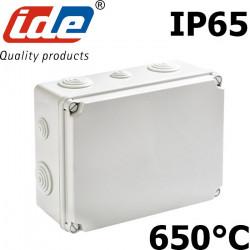 Boite de dérivation étanche extérieur, indice IP65 avec passes fils coniques