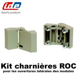 Kit charnières extérieures ROC (sachet de 2)