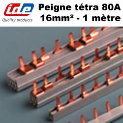 Peigne de connexion tétrapolaire 80A type broche IDE