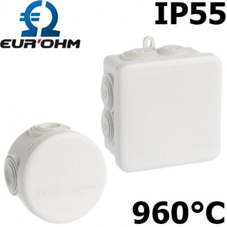 Boite étanche de dérivation IP55 Eurohm