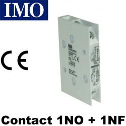 Contact auxiliaire 1NO+1NF pour sectionneur et inter de proximité série 69 - IMO