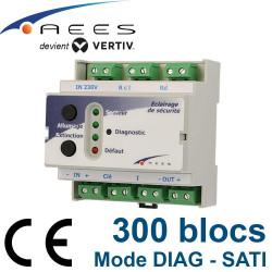 Télécommande pour BAES mode DIAG TEL300 Connect