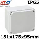 Boitier électrique étanche IDE EL171 Dimensions 151x175x95mm