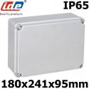 Boitier électrique étanche IDE EL231 Dimensions 180x241x95mm