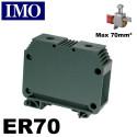 Borne de jonction rail din 70mm² - Borne ER70