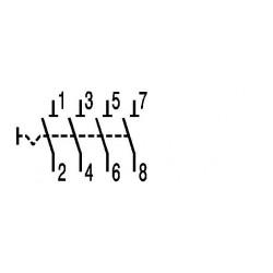 Interrupteur tétrapolaire 32A 4NO 415V ABB