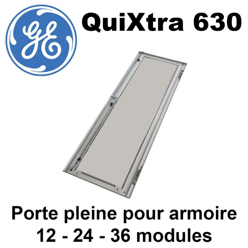 Porte pleine pour armoire électrique QuiXtra 630