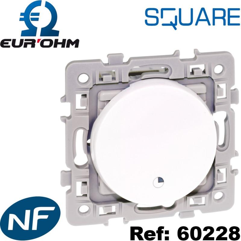 Interrupteur temporisé programmable Square Eurohm Eur'Ohm