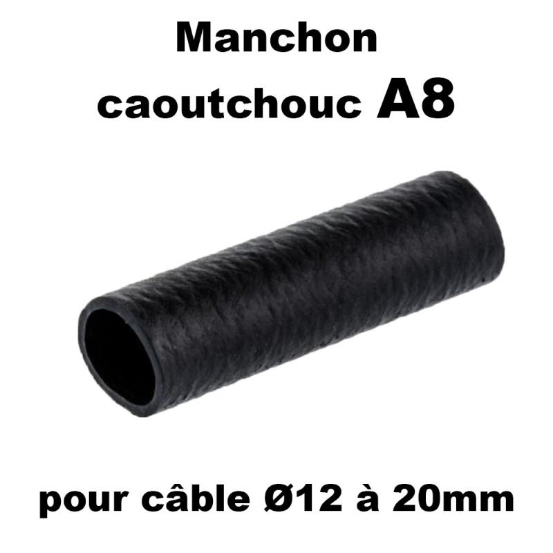 Manchon caoutchouc A8 pour câble de 12 à 20mm Hilpress