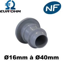 Embout de gaine ICTA Ø16mm à 40mm Eur'Ohm