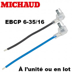 Embout EBCP 6-35 fouet 16mm² longueur 190mm Michaud