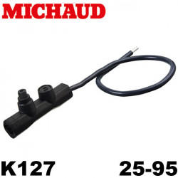 Embout réducteur 25-95 - Cuivre alu - Michaud K127