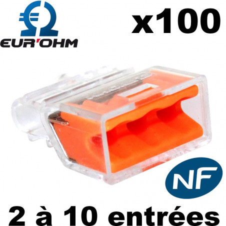 Bornes Automatiques transparentes Eur'Ohm