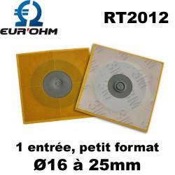 Membrane passe câble étanche diam 16 à 25mm Eur'Ohm