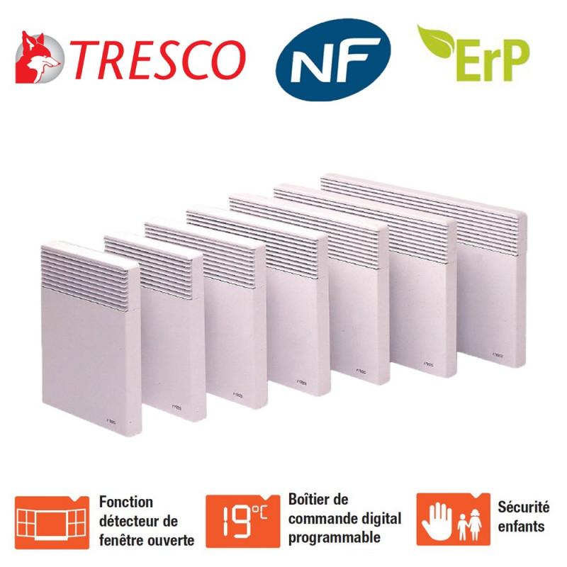 Convecteurs électriques 500W à 2000W Poncho ST Tresco